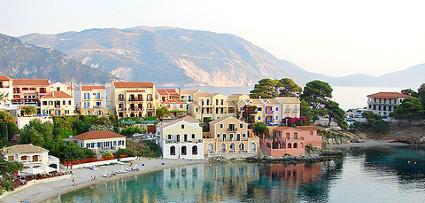 Vistas de Cefalonia - Islas Griegas