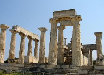 Templo de Aphaia - Egina - Islas Griegas