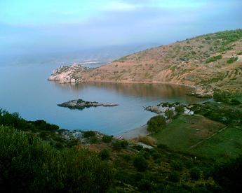 Vistas de Quíos - Islas Griegas