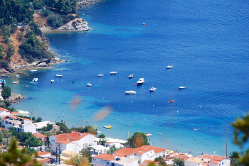 Vistas de Skiathos - Islas Griegas