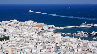 Vistas de Mykonos - Islas Griegas